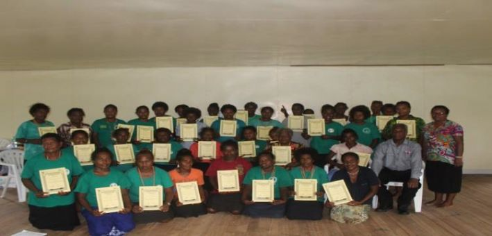 SIWIBA, SYOB Training for Marau Paranikeni Sanivaivine Group Successfully Completed Last Week